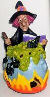 1996 Matrix Industries  Witch Cauldron Foam Blow Mold VTG Halloween Decoration