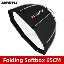 Triopo 65cm Photo Bowens Mount Portable Octagon Umbrella SoftBox + Carrying Bag