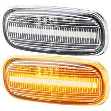 LED Indicators for Audi A2 8Z A3 8L A4 8D A6 C5 Clear Glass [7316]