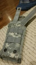Molle 2 Army Surplus M4 AR-15 Airsoft Double 30rnd Magazine Pouch  Digital Cammo