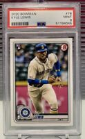2020 Topps Bowman Kyle Lewis (Mariners) Rookie RC PSA 9
