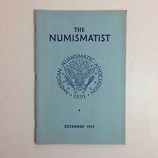 Vintage The Numismatist Book - American Numismatic Association - December 1957