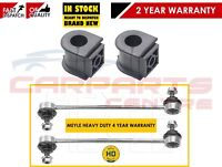 FOR TOYOTA AVENSIS FRONT HEAVY DUTY ANTIROLL STABILISER BAR LINKS D BUSHES HD