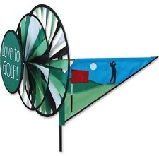 Premier Kites Love To Golf Triple Wind Spinner See Photo uv resistant textile