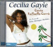CECILIA GAYLE - CANTA RAFFAELLA CARRA' - CD NUOVO SIGILLATO RARO