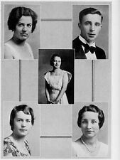 1932 San Francisco State College Yearbook~Photos~History~Football~Tennis~Dance++