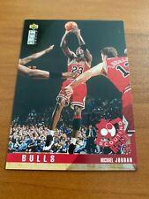 🏀 1995-96 UD Collector's Choice Basketball Base Card #324 Michael JORDAN 🏀