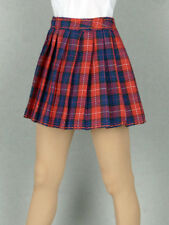 1/6 Phicen, Hot Toys, Kumik, Cy Girl, ZC & NT - Female Red Tartan Plaid Skirt #2