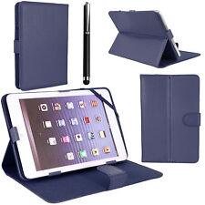 PU Plegable Folio Libro De Cuero Funda Soporte para Android Tablet PC 9