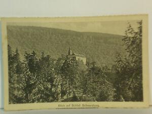AK  Blick auf Schloss Schwarzburg
