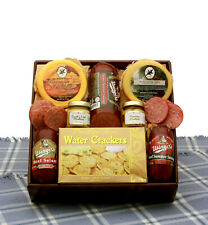 Hearty Favorites Meat & Cheese Sampler/Usinger's Sausages/Wisconsin Cheeses