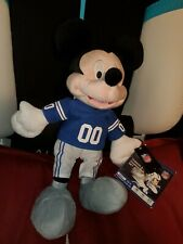 mickey mouse nfl colts plush 17 inch new with tags ship out fast