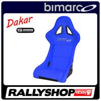 BIMARCO Seat DAKAR FIA Racing Blue WITH HOMOLOGATION CLEARANCE SALE 2016