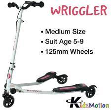 Kidzmotion Wriggler 3 wheel swing scooter speeder drifter (age 5+) pink