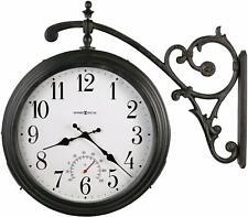 Howard Miller Luis Indoor / Outdoor Wall Clock 625-358 – Round, Quartz Movement