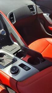 C7 Corvette billet aluminum cup holder insert, anodized red