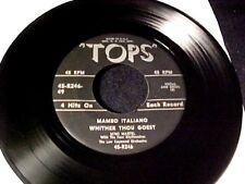 R&B POPCORN NORTHERN SOUL 45 ~ MIMI MARTEL Mambo Italiano TOPS EP Hear