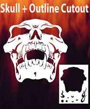 Skull 15 Airbrush Stencil Spray Vision Template air brush