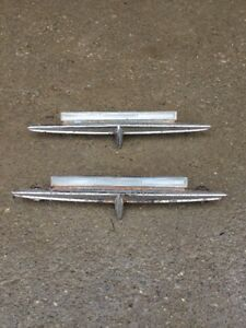 1963 Ford Fairlane 2 Door H/T Sport Coupe Emblems.