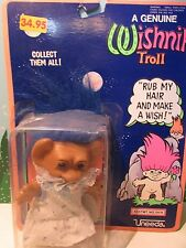 "Girl In Pretty Dress w/Panties - 6"" Wishnik Uneeda Troll Doll - Very Rare"