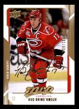 2008-09 Upper Deck MVP Gold Script #53 Rod Brind'Amour Canes #/100 (ref 31709)