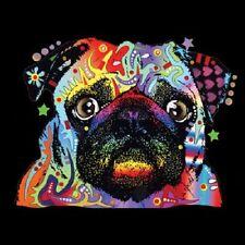 Pug  Neon Black Light    Hoodie   Sizes/Colors