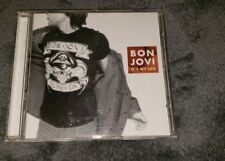 BON JOVI cd IT'S MY LIFE 3 tracks free US shipping