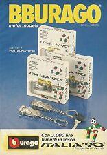 X1283 Portachiavi F40 Italia '90 - BBURAGO - Pubblicità 1989 - Advertising