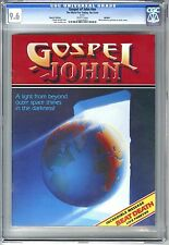 GOSPEL of JOHN (NO DATE) CGC 9.6 NM+ WHITE PAGES RICK GRIFFIN REPRINT EDITION