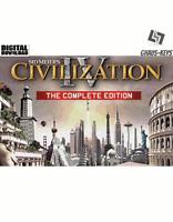Sid Meier's Civilization IV 4 The Complete Edition Steam Download Key Digital PC