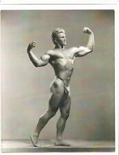 bodybuilder Eric Pedersen Bodybuilding Muscle Photo B&W