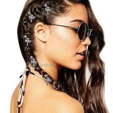 5x Dragonfly Rasta Mambo Bead Dreadlocks Dread Braid Hair Cuff Dress Clip Pin W1