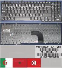 CLAVIER QWERTY ARABE PB EasyNote ME35 71-31764-12 7436700021 V061605AK1 AR V00