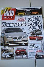 AUTO MOTO N°185 2011 // BMW SERIE 1 CLIO 4 GOLF CABRIOLET AUDI QUATTRO 508 SLS