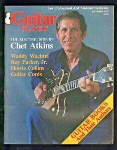 1979 October Guitar Player - Vintage Magazine - Chet Atkins