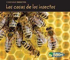Las Casas de los Insectos = Bug Homes (Paperback or Softback)