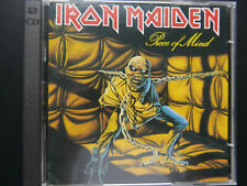 IRON MAIDEN-PIECE OF MIND-1983/1995-CASTLE RECORDS - 2 CDs Bonus 105-2