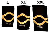 (1 Sleeve) Copper Fit Pro Series Compression Knee Sleeve Men/Women Brace L-XXL