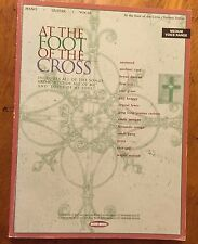 At the Foot of the Cross piano vocal guitar music sheet song book Amy Grant