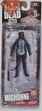 "MICHONNE The Walking Dead amc TV Show 5"" Action Figure Series 9 McFarlane 2016"