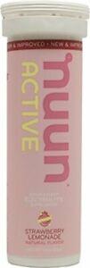 Nuun Active Natural Electrolyte Enhanced , 10 tablets Strawberry Lemonade 1 pack