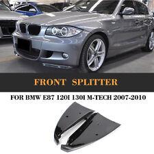 Carbon Fiber Front Bumper Splitters Lip Spoiler Fit for BMW E87 M Tech M Sport