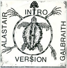 "ALASTAIR GALBRAITH Intro Version 7"" 1994 Roof Bolt EX+ in VG++ picture sleeve"