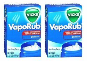 Vicks VapoRub -  100 gm x 2 pack (Free Shipping worldwide)