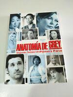 Anatomia de Grey Seconda Stagione Prima Parte - 4 X DVD Spagnolo Inglese