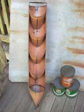 Vintage Oil Can Drain Rack Garage Service Gas Station Original Complete