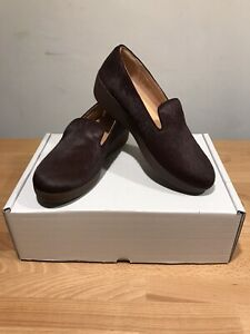 Fitflop Women's Berry Audrey Faux-Pony Smoking Slippers! UK5! New! Only £59.90!