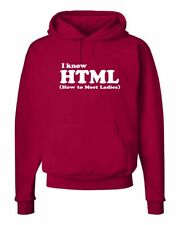 Html I know how to meet ladies System Linux Admin Hooded Sweatshirt S-5Xl