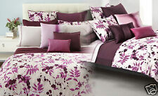 Hugo Boss Botanical King Duvet Orchid Purple Floral $600 Machine Wash Tumble Dry