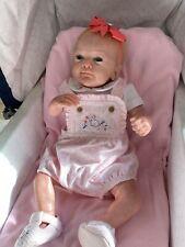REBORN  BABY SANYA  Ltd 204/1001 Sculpted By Gudrun Legler, Comes With COA